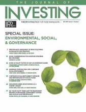 The Journal of Investing: 28 (2)